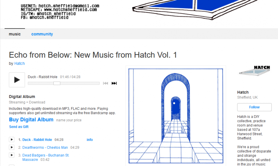 'Echo From Below': New Music from Hatch Vol. 1: The Full Memo